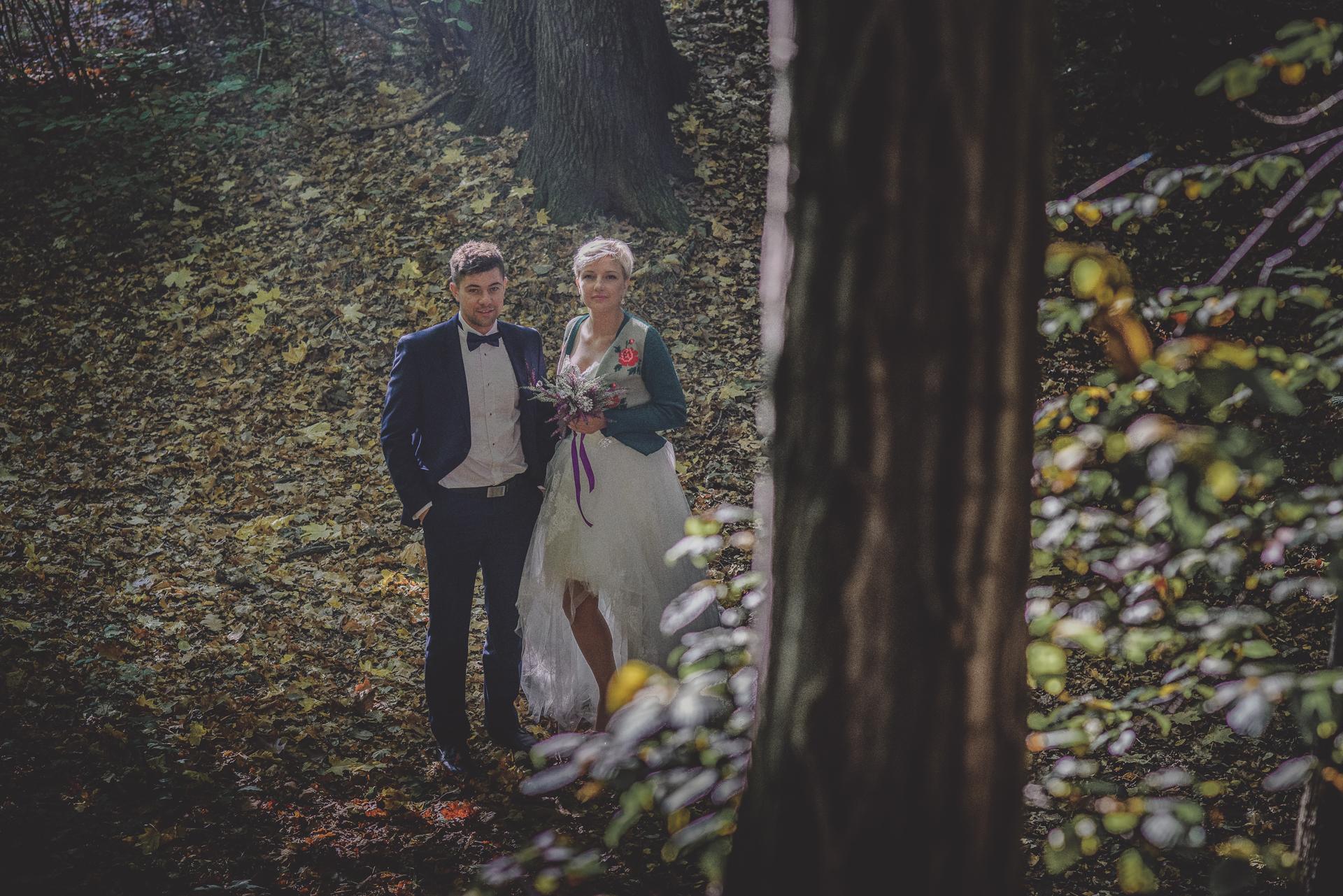 Plener w lesie Bielsko-Białą